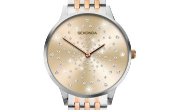 Sekonda Ladies Two-Tone Stainless Steel Bracelet Watch