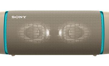 Sony SRS-XB33 Bluetooth Portable Speaker - Cream