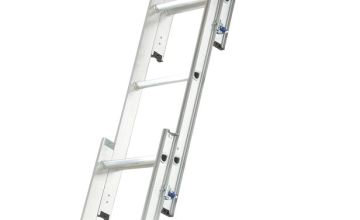Abru 3 Section Easy Stow Loft Ladder