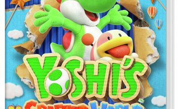 Yoshi's Crafted World Nintendo Switch Game