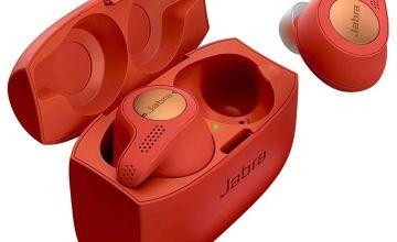 Jabra Elite 65 Active True Wireless Headphones - Red Copper