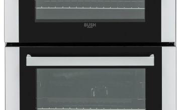 Bush BGC60DW 60cm Double Oven Gas Cooker - White