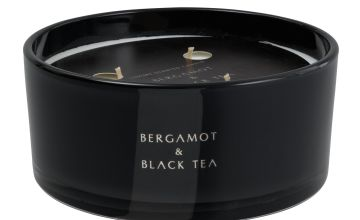 Argos Home Bergamot and Black Tea Multiwick Candle
