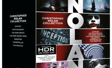 Christopher Nolan Collection 4K UHD Blu-Ray Box Set