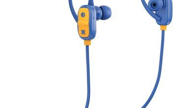 JAM Live Large In-Ear Bluetooth Headphones - Blue