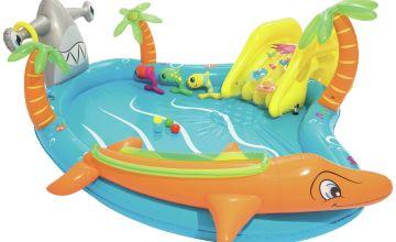 Chad Valley 9ft Sea Life Play Kids Paddling Pool - 273L