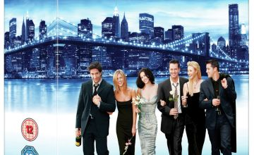 Friends The Complete Series Seasons 1-10 Blu-Ray Box Set