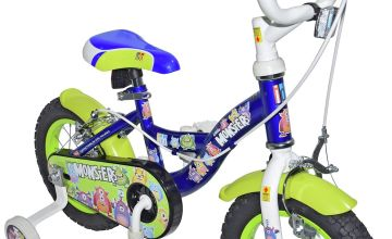 Click n Go Little Monsters 12 inch Wheel Size Kids Bike
