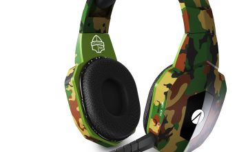 Stealth Cruiser Wireless PS4, PC Headset - Camo