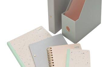 Argos Home Retreat Stationery Bundle & Folder
