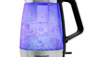 Morphy Richards 108010 Vetro Illuminated Kettle - Glass