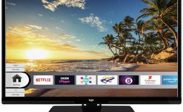 Bush 24 Inch Smart HD Ready LED Freeview TV / DVD Combi