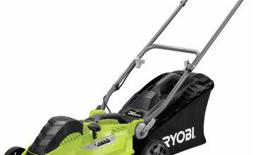 Ryobi RLM3615 36cm Corded Rotary Lawnmower - 1500W