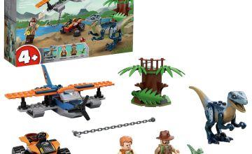 LEGO Jurassic World 4+ Velociraptor Biplane Rescue Set 75942