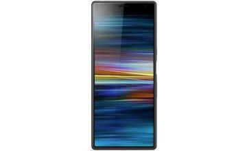 Sim Free Sony Xperia 10 Plus 64GB Mobile Phone - Black