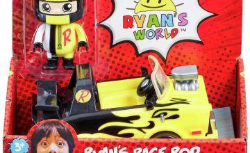 Ryan's World Vehicle and Figure