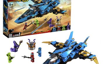 LEGO Ninjago Jay's Storm Fighter Toy Jet Plane - 70668