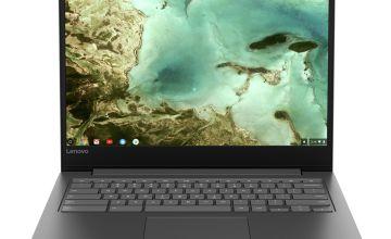 Lenovo IdeaPad S330 14 Inch 4GB 32GB Chromebook - Black