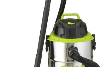 Guild 30L Steel Drum Wet and Dry Vacuum Cleaner - 1500W