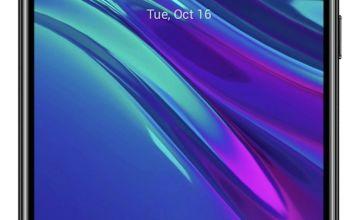 SIM Free Huawei Y6 32GB Mobile Phone - Midnight Black