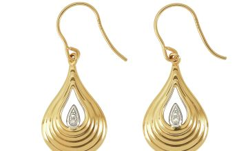 Revere 9ct Yellow Gold Drop Earrings