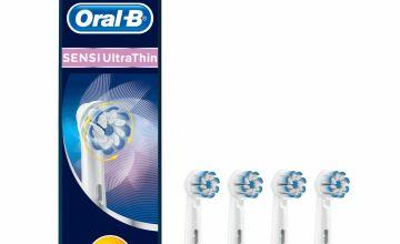 Oral-B Sensi UltraThin Electric Toothbrush Heads - 4 Pack