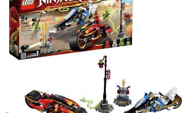 LEGO Ninjago Kais Blade Cycle & Zane's Toy Vehicles - 70667