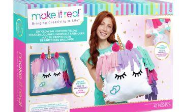 Make It Real Unicorn Light Up Pillow