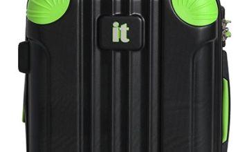 IT Luggage Expandable 8 Wheel Hard Cabin Suitcase