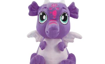 AniMagic My Cuddly Purple Dragon