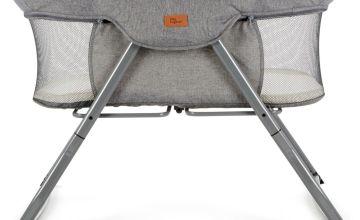 Baby Elegance Kangu Foldable Bedside Sleeper - Grey