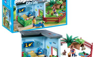 Playmobil 9277 City Life Small Animal Boarding Playset