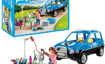 Playmobil 9278 City Life Pet Groomer Playset