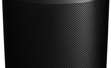Sonos One 2nd Gen Wireless Smart Speaker - Black