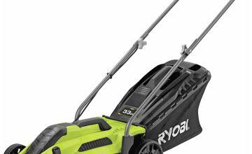 Ryobi RLM3313 33cm Corded Rotary Lawnmower – 1300W