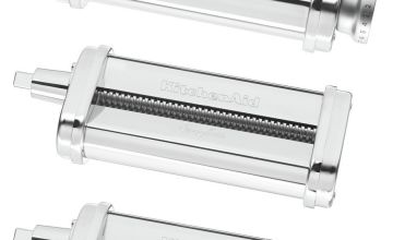 KitchenAid 5KSMPRA Pasta Sheet Roller and Cutter - S/Steel
