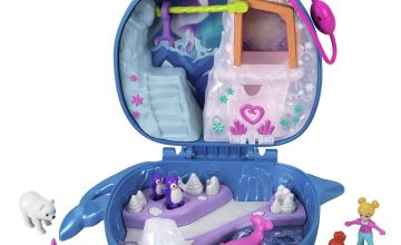 Polly Pocket Polly and Lila Narwhal Arctic Playset