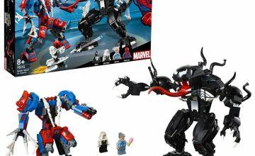 LEGO Superhero Spider-Man Spider Mech Fight Playset - 76115