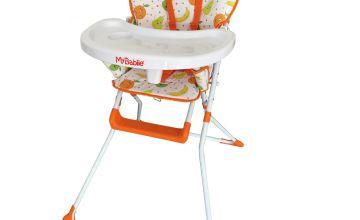My Babiie Compact Highchair - Fruity Design