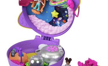 Polly Pocket Pocket World Saturn Space Compact