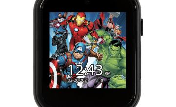 Disney Avenger Kids Multicolored Silicone Strap Smart Watch