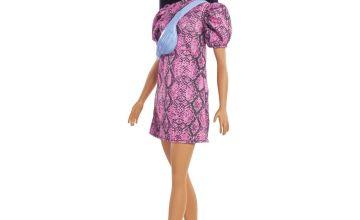 Barbie Fashionista with Snakeskin Dress Doll