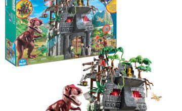 Playmobil 9429 Dinos Hidden Temple with T-Rex
