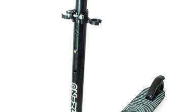 Zinc Aluminium Identity Folding Scooter - Black