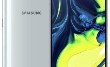 SIM Free Samsung A80 128GB Mobile Phone – Silver