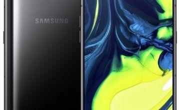SIM Free Samsung A80 128GB Mobile Phone – Black