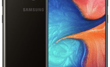 SIM Free Samsung A20E 32GB Mobile Phone – Black