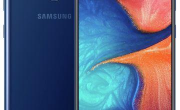 SIM Free Samsung A20E 32GB Mobile Phone – Blue