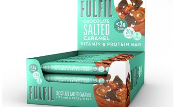 Fulfil Salted Caramel Protein and Vitamin Bars 15 x 55g