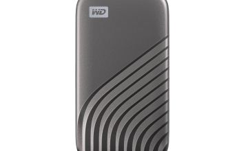 WD Passport 1TB Portable Solid State Drive - Space Gray